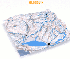 3d view of Glogovik