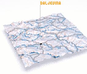 3d view of Daljevina