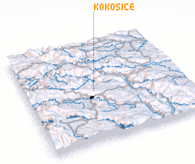 3d view of Kokošice