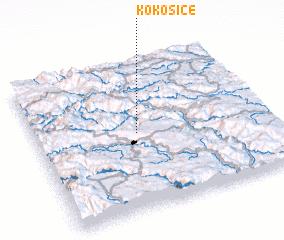3d view of Kokošice