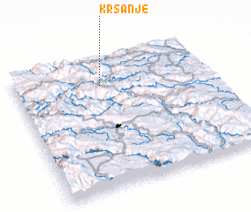 3d view of Kršanje