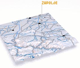 3d view of Zapolje
