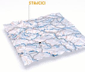 3d view of Stajčići