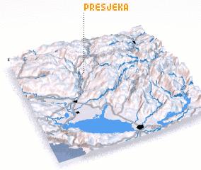 3d view of Presjeka