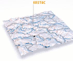 3d view of Krstac