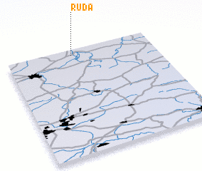 3d view of Ruda