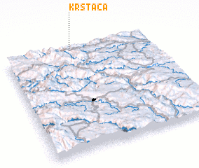 3d view of Krstača