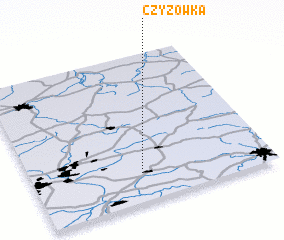 3d view of Czyżówka
