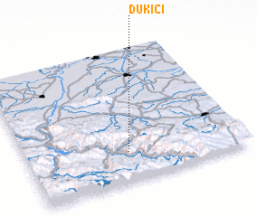 3d view of Dukići