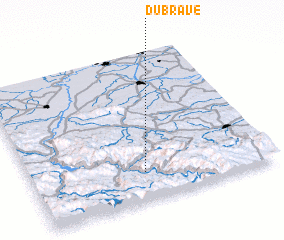 3d view of Dubrave