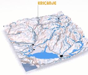 3d view of Kričanje