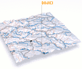 3d view of Dujići