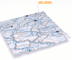 3d view of Jelovac