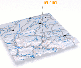 3d view of Jelovci