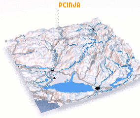 3d view of Pčinja