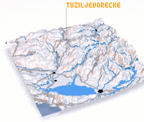 3d view of Tuzi Ljevorečke