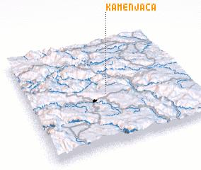 3d view of Kamenjača