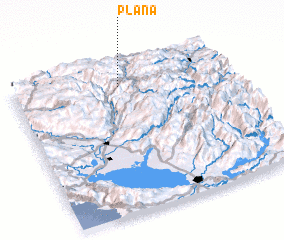 3d view of Plana