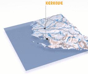 3d view of Kërkovë