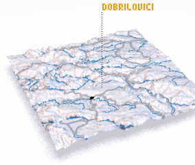 3d view of Dobrilovići