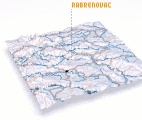 3d view of Rabrenovac