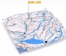 3d view of Babljak
