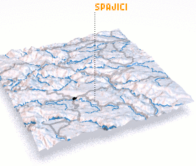 3d view of Spajići