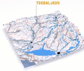 3d view of Trebaljevo