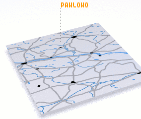 3d view of Pawłowo