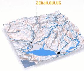 3d view of Zenjilov Lug