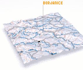 3d view of Borjanice