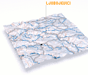 3d view of Ljobojevici