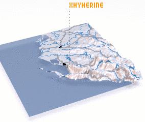 3d view of Xhyherinë