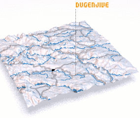 3d view of Duge Njive