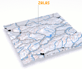 3d view of Zalas