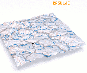 3d view of Rasulje