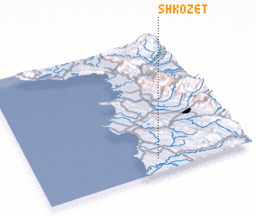 3d view of Shkozet