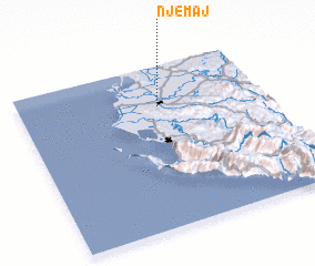3d view of Një Maj
