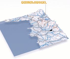 3d view of Gërmenji i Vogël