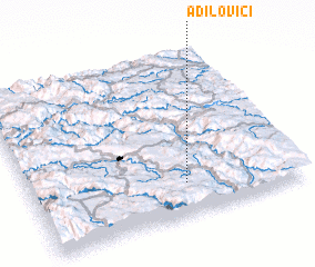 3d view of (( Adilovići ))