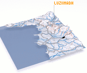 3d view of Luzi i Madh