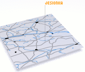 3d view of Jesionka