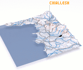 3d view of (( Çikallesh ))