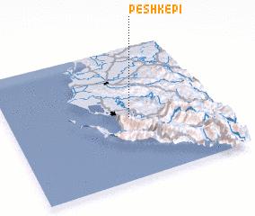 3d view of Peshkëpi