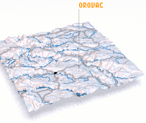 3d view of Orovac
