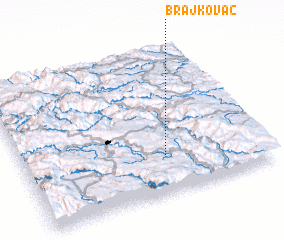 3d view of Brajkovac