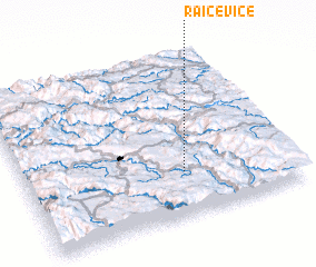3d view of Raičeviće