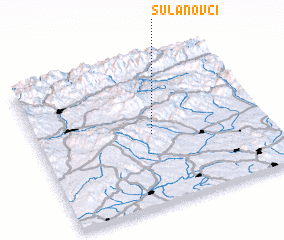 3d view of Sulanovci