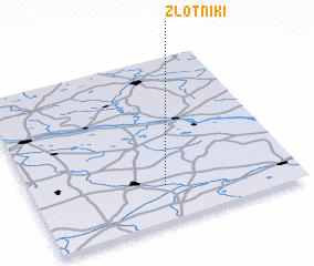 3d view of Złotniki