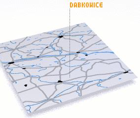 3d view of Dąbkowice